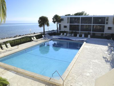 Photo for Steps away from Oversize Pool & Ocean! R & R here!