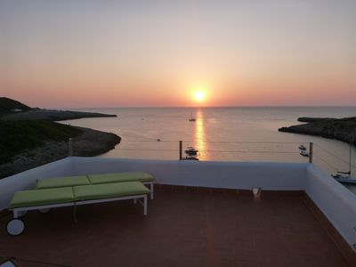 Photo for Portinatx apartment with stunning sea views! Best sunset or IBiza!