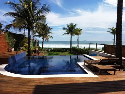 Photo for Beautiful House in front of the Sea - Reveíllon Available- Praia Maresias !!