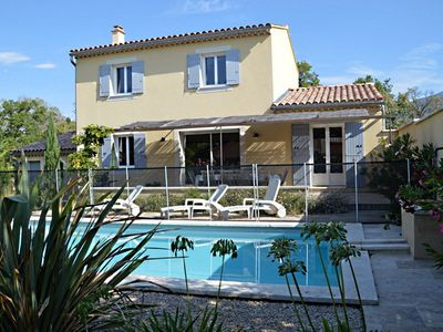 Photo for A 800 M FROM THE PICTURESQUE VILLAGE OF BEDOIN: NEW VILLA IN QUIET AREA