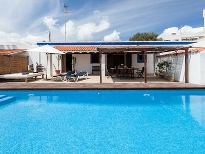 Photo for 2 ADJOINING VILLAS Villa With Private Pool 14 PEOPLE , Pivate parking, garden  .
