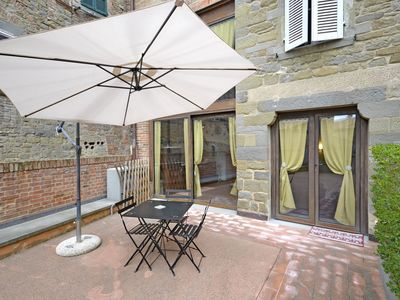 Photo for Lovely apartment for 3 guests with WIFI, A/C, TV, patio and pets allowed