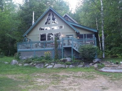 Photo for hiking -- swimming-- lodge located on base of adirondack mountain -- near  lake