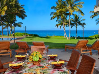 Photo for Wailea Sunset Estate - Private Oceanfront Home in Makena