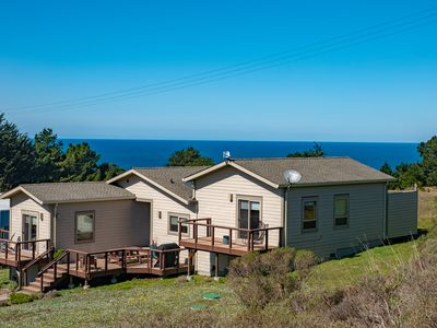 Photo for Highest Rated!  Mendocino Coast Luxurious Home-Ocean/Hills/Pastoral Views
