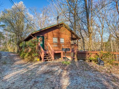 Photo for Tucked away Smoky Mountain Cabin near Gatlinburg and Pigeon Forge