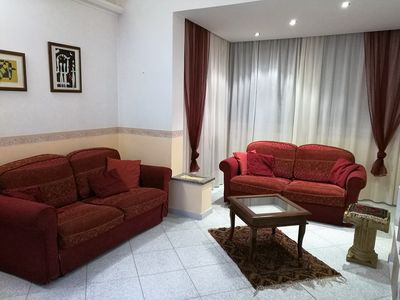 Photo for Nice and bright apartment located on the 3rd floor of a building