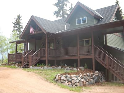 Photo for Modern home secluded on 55 acres--Breathtaking views of Pikes Peak- Pet Friendly