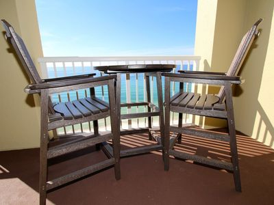 Photo for Gorgeous 2 BR Grand Panama on Water! Great Deals, comes with beach chairs!