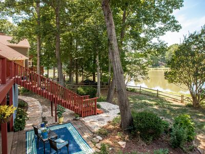 Photo for Lakefront oasis just minutes away from everything that Charlotte has to offer!