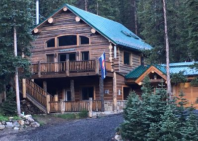 Blue River Lodge in Summer