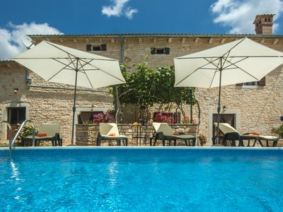Photo for Traditional Istrian house with large garden, ideal for family holidays