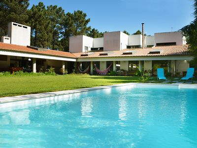 Photo for Nice villa with swimming pool, located in Aroeira golf resort