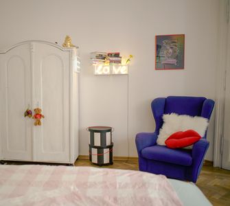 Photo for Big, modern flat in green area, 10 minutes to center (Pocket wifi incl.)