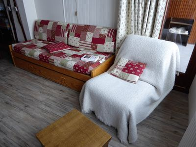 Photo for PLEASANT 2 ROOMS RENOVATED IN THE  CENTER  OF VAL CLARET SOUTH WEST FACING - CURLING B80