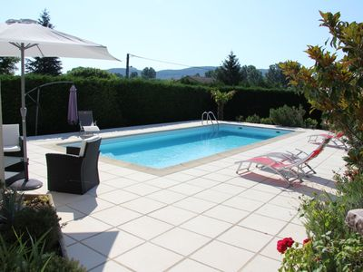 Photo for villa house with private pool south ardéche