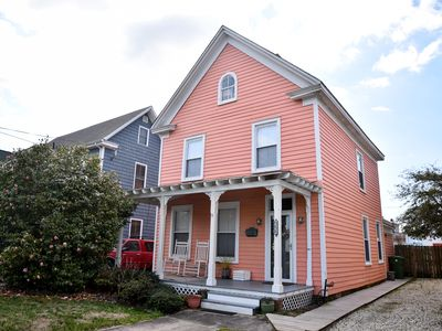 Photo for BeachyKeen-Historic Home Newly Renovated - Sleeps 14 -  Only 2 ½ blocks to Beach
