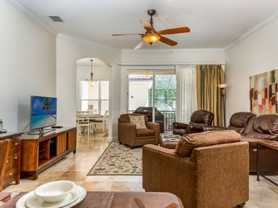 Photo for Luxury Villa | Charming and Luxury Villa Near Disney! Large South Facing Pool and Spa