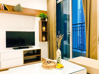 Photo for Dany House 5 @ Vinhome central park 2BR spacious & amazing view Near Landmark81