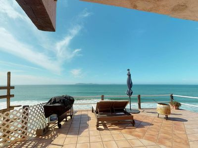 Photo for Beautiful Ocean Front Home