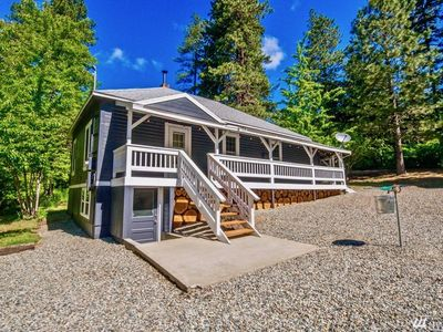 Photo for Rustic Ronald Cabin Near Suncadia and Lake Cle Elum! Snowmobile Trail in Backyrd