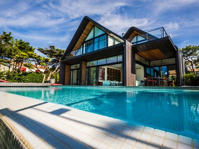 Photo for KEYWEEK Design Villa in Anglet, Fireplace Pool, Golf & Sea View and Access
