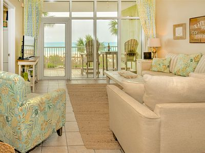 Photo for WOW! The BEST Waters Edge 205! Direct Beachfront Condo! Family Friendly/Big Pool