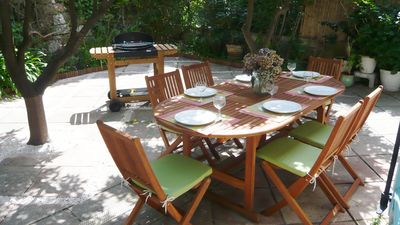 Photo for Charming villa in lush green setting, 3 minutes from beaches