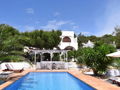 Photo for VILLA ES VEDRA Lovely villa with amazing views to the magical Es Vedra
