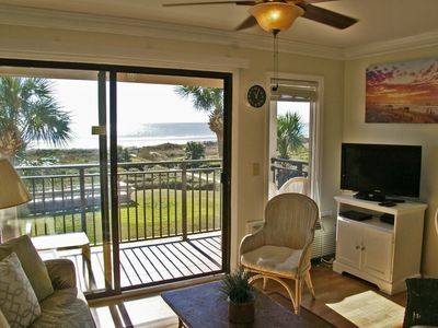 Photo for HILTON HEAD OCEANFRONT LIVING!! (selected open days available as single nights)