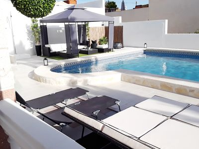 Photo for Luxury 4 bedroom detached villa, with very large private pool & grounds.