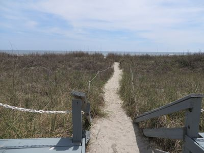 Photo for Beautiful Oceanfront Condo only steps to the beach