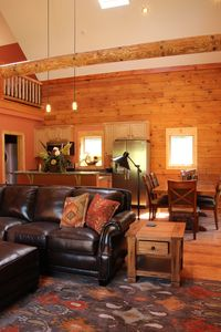 Photo for True Log Cabin Living At Bristol Mountain - Cabin Couture