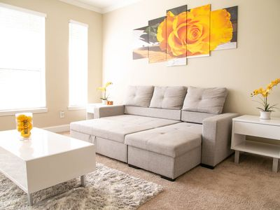 Photo for The Great Escape Midtown Atlanta ~ Entire Apartment ~ King Bed