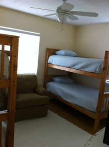 Double set of bunk beds (sleeps 4)