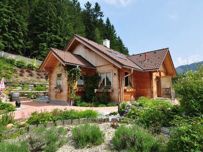Photo for Surrounded by nature, peacefully located authentic chalet with large garden.