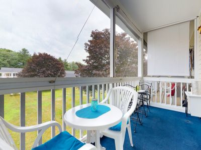 Photo for NEW LISTING! Studio-style condo w/ screened balcony & seasonal pool!