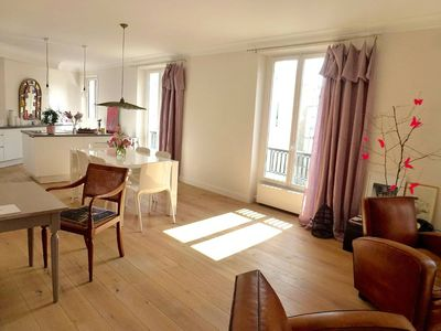 Photo for Quiet apartement of 95m2 in the heart of Paris in Bourgeois/Bohemian living area