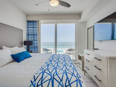 Photo for Relax Listening to the Ocean Roar with this Gorgeous New Condo On The Beach
