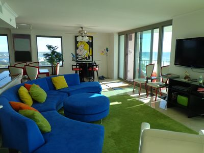 Photo for Luxury Private Beachfront Penthouse -- 3 Bedroom, 3 Bath , Amazing Views