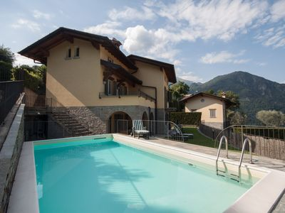 Photo for Villa le Rose - sleeps 8 with private pool and garden