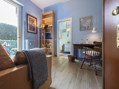 Photo for Guastalla lovely studio with romantic terrace