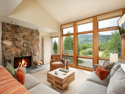 Photo for RMR: 3 BR Condo in the Aspens!  Great views off deck + Free Fun