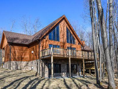 Photo for Maple Manor: Stunning log home close to skiing, golf & DCL activities