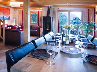 Photo for Chalet Grand Paradis, Morzine.  5 bedrooms, sleeps 10-12 people.