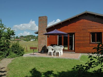 Photo for Ground-floor bungalow in peaceful setting, 500m away from the river Ourthe