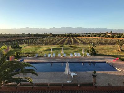 Photo for Luxury, fully staffed villa with magnificent views of Atlas mountains. Sleeps 16
