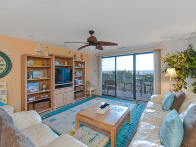 Photo for Stunning direct ocean front 3 bedroom condo with huge balcony