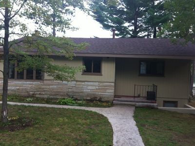 Photo for 5 Bedroom Lakefront Home With Privacy On Beautiful All-sports Tee Lake