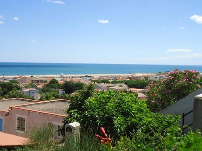 Photo for VILLA WITH LARGE TERRACE BEAUTIFUL SEA VIEW - SAINT PIERRE LA MER